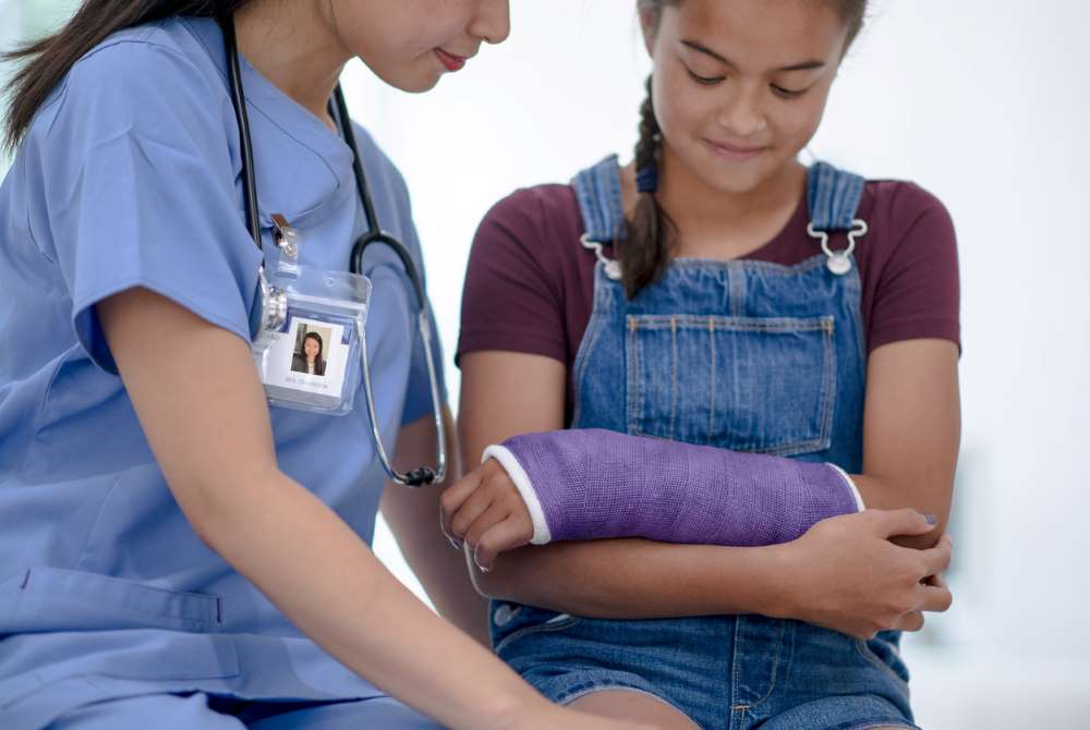 broken arm personal injury