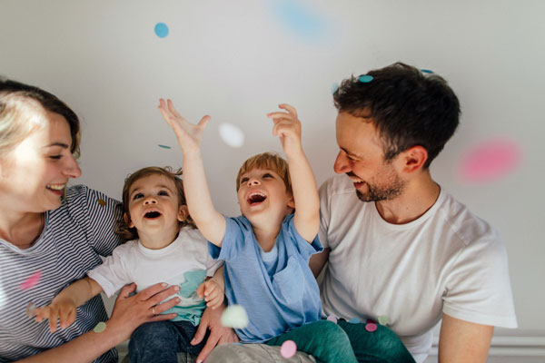Confetti Gender Reveals