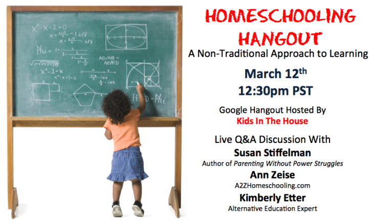 Homeschooling hangout a non traditional approach to learning kids in the house - Household water treatment a traditional approach ...