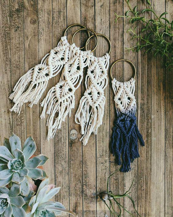 knotted keychains