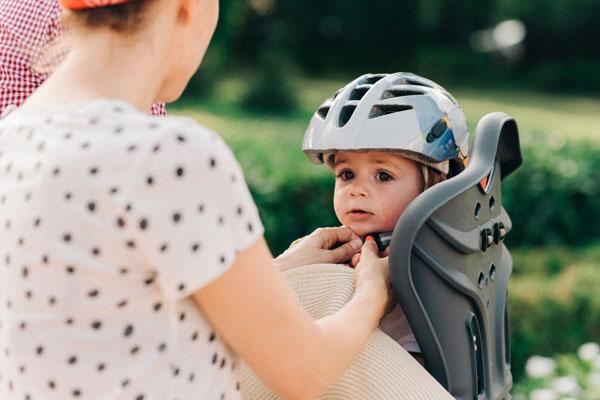 kids bike seat safety
