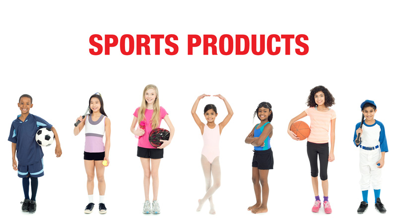kids sports products