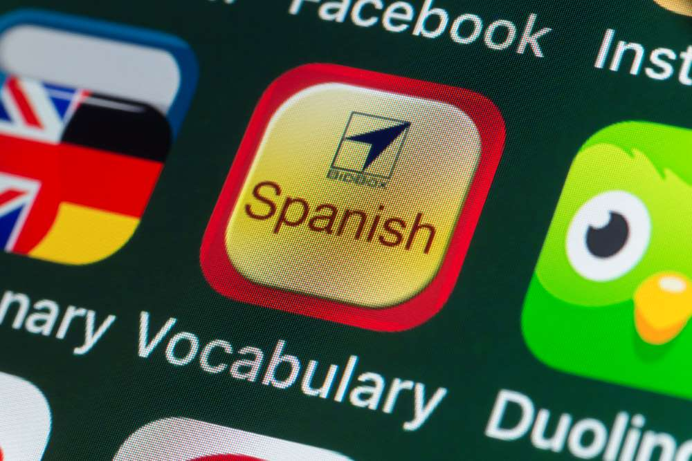 language vocabulary app