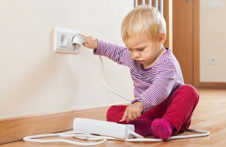 Child Proofing Electrical Outlets
