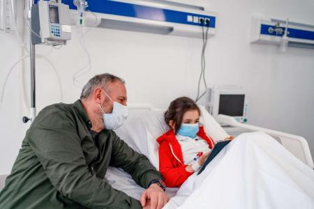 child hospital coping tips