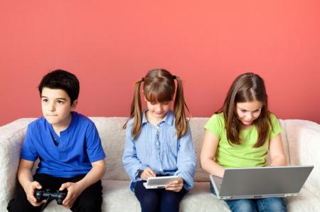 kids addicted to computer games