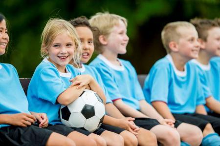 kids team sports soccer