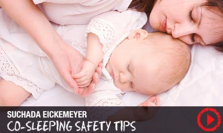co-sleeping with your baby safety tips