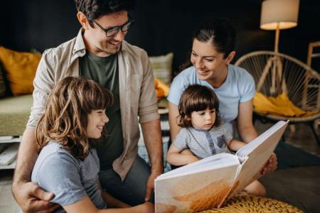 Parents Teaching Children to Read