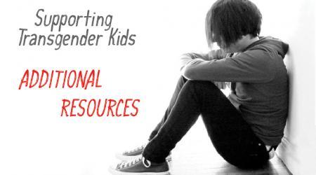 Transgender organizations resource page