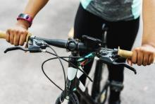 bike rider with android tracker