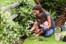 kids gardening learning