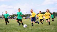 kids benefit from team sports