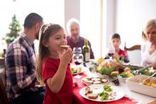 large family dinner