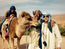 travel with kids to Morocco