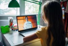 Kids Learn in online School