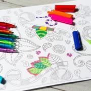 coloring book for older kids