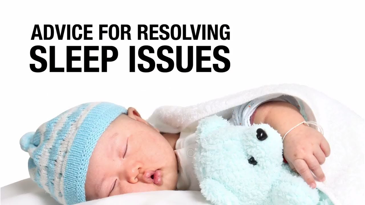 Advice from dad on resolving sleep issues