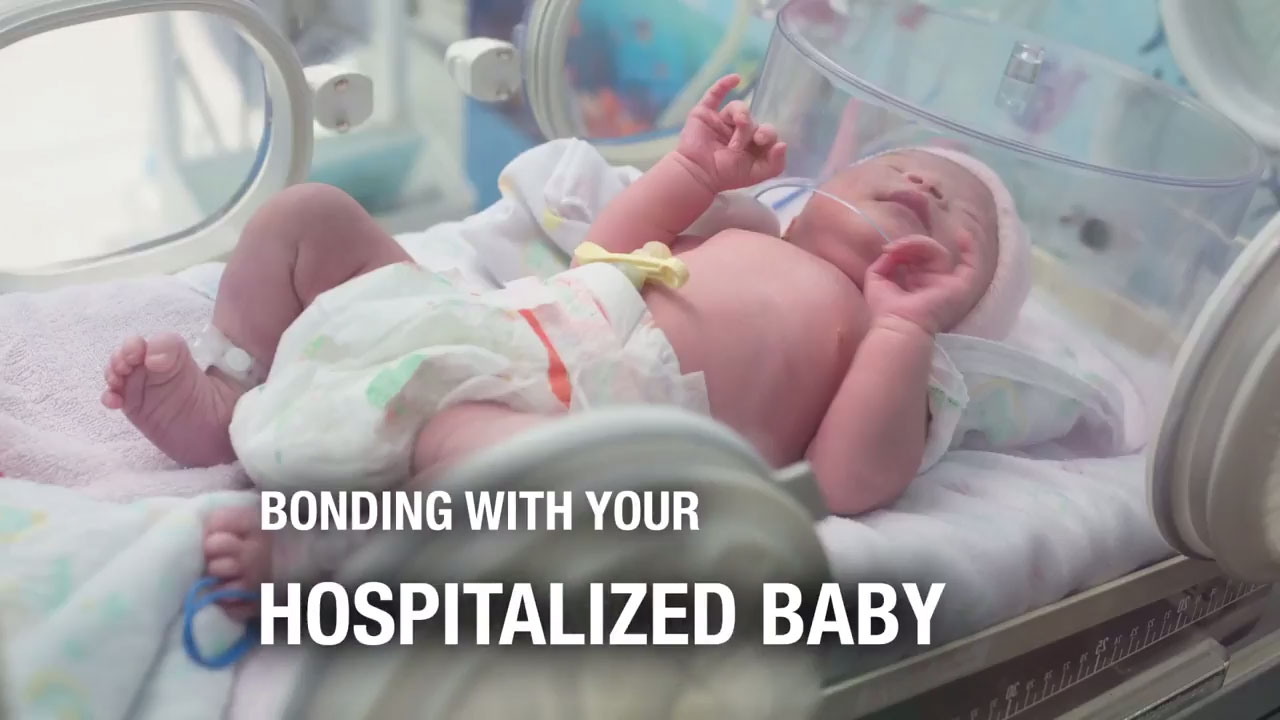 Bonding With your Hospitalized Baby