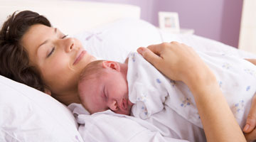 Advantages of co-sleeping