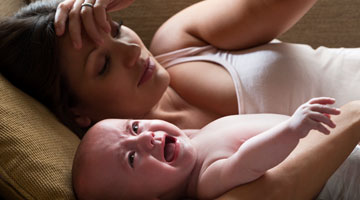 Colic: end of the day fussing without medical cause