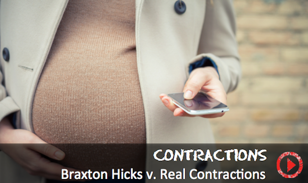 Braxton Hicks vs. real labor contractions