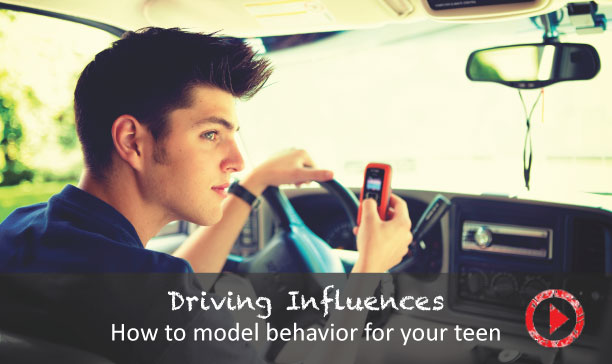 How to role model for your teenage driver