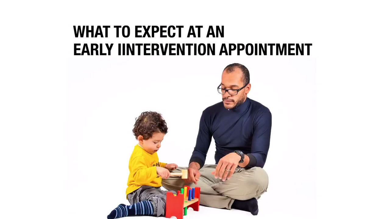What to expect at an early intervention appointment?