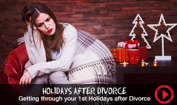 How to get through your first holiday season after divorce