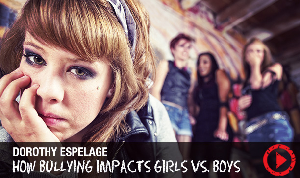 Girl bullying vs. boy bullying