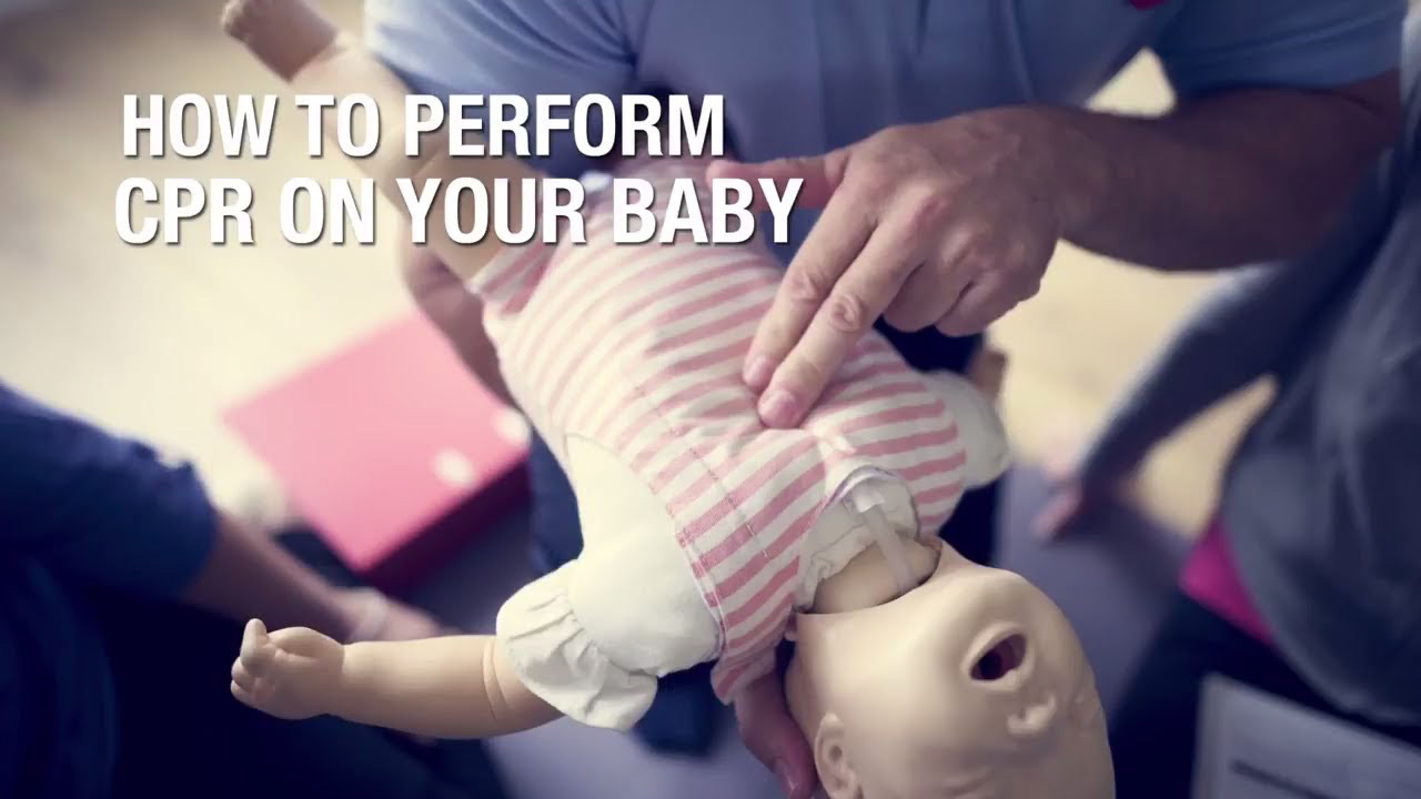 How to perform CPR on your Baby