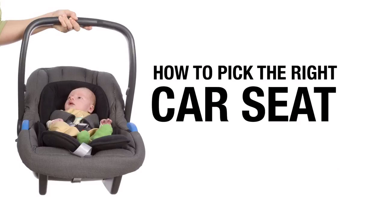 How to pick the right car seat