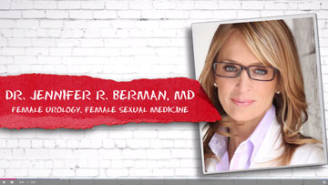 Full Interview with Jennifer Berman from Sex Life and Relationship show