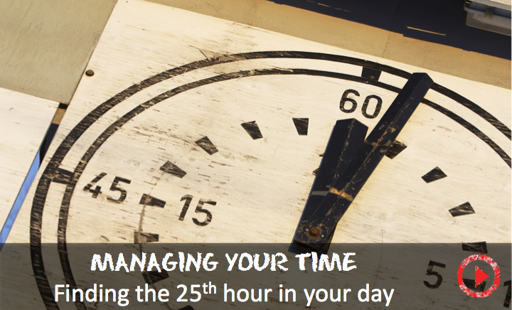 How to find the 25th hour in your day