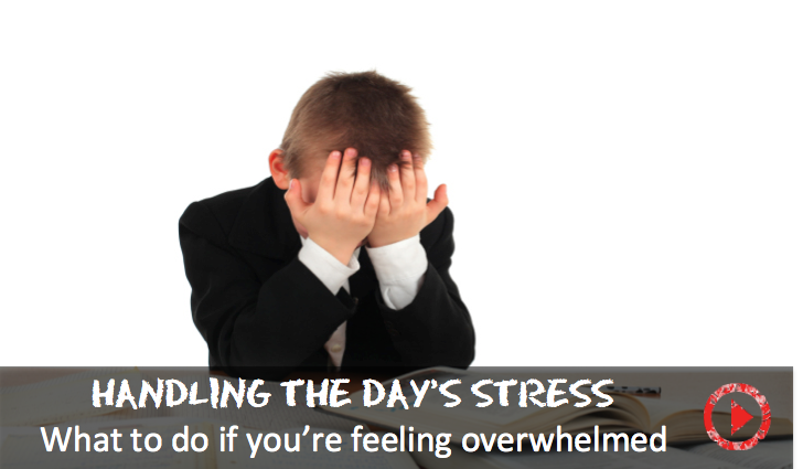 Advice for parents who feel stressed balancing life