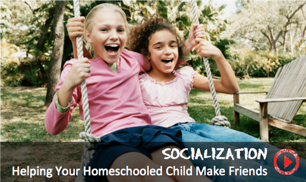 How do unschooled children get socialized?