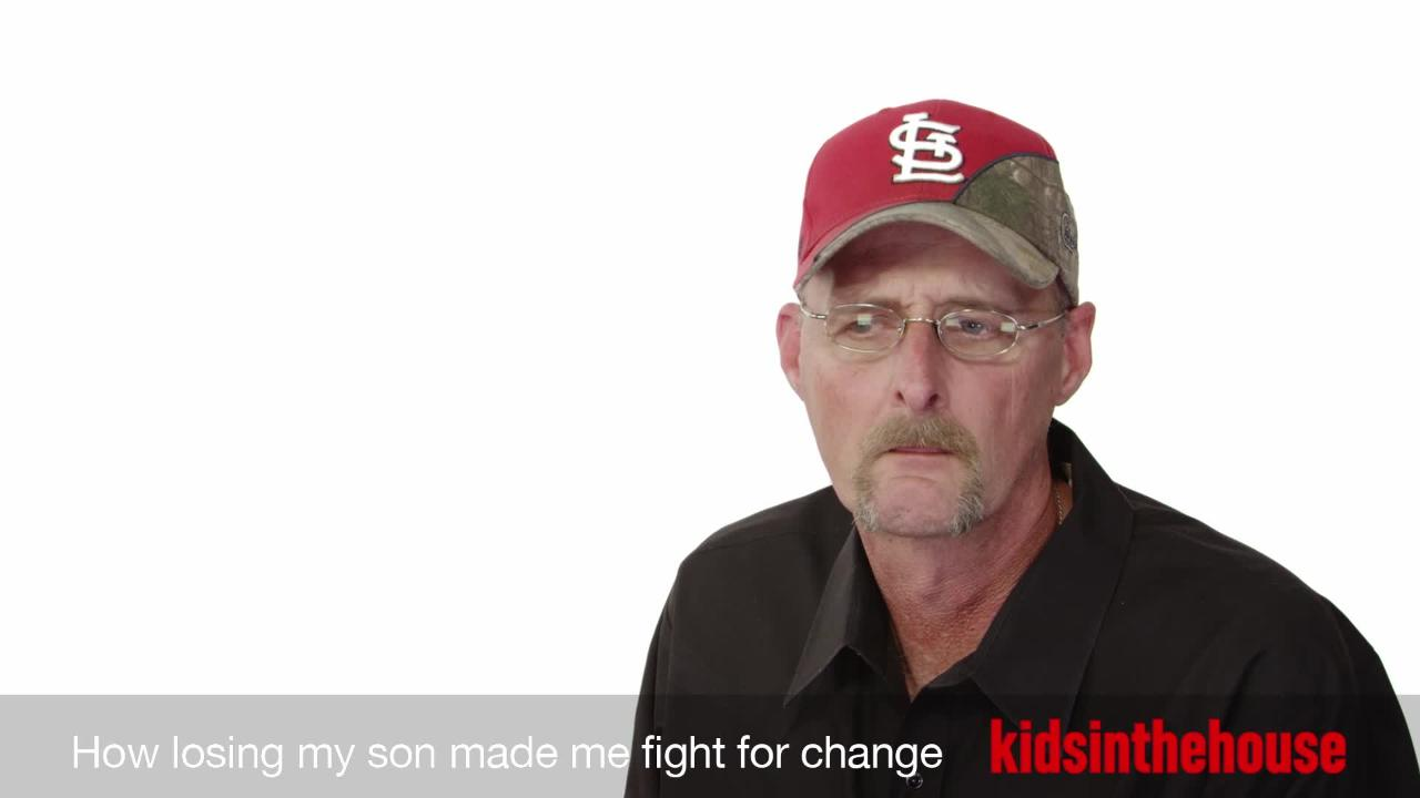 How losing my son made me fight for change.