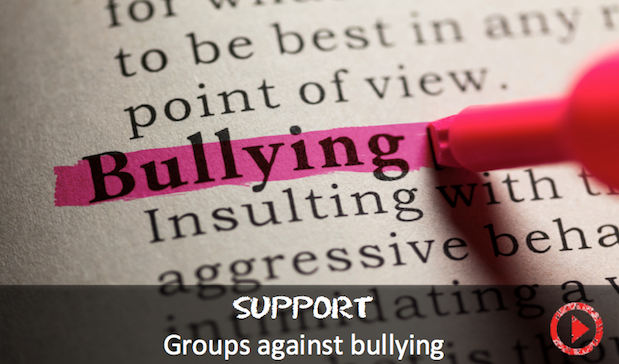 Anonymous and other groups against bullying