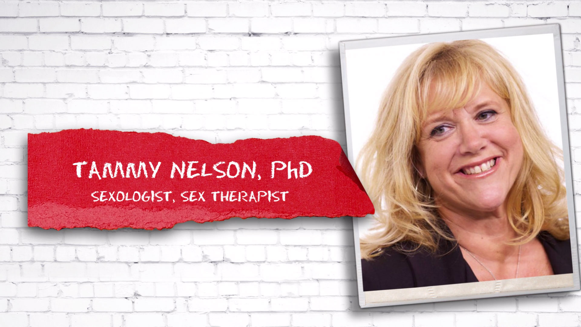 Full Interview with Tammy Nelson from sex life and relationships show - uncut.