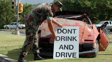 Consequences of drunk driving and harming others