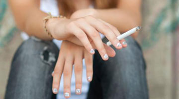 Why girls think smoking cigarettes will keep them skinny
