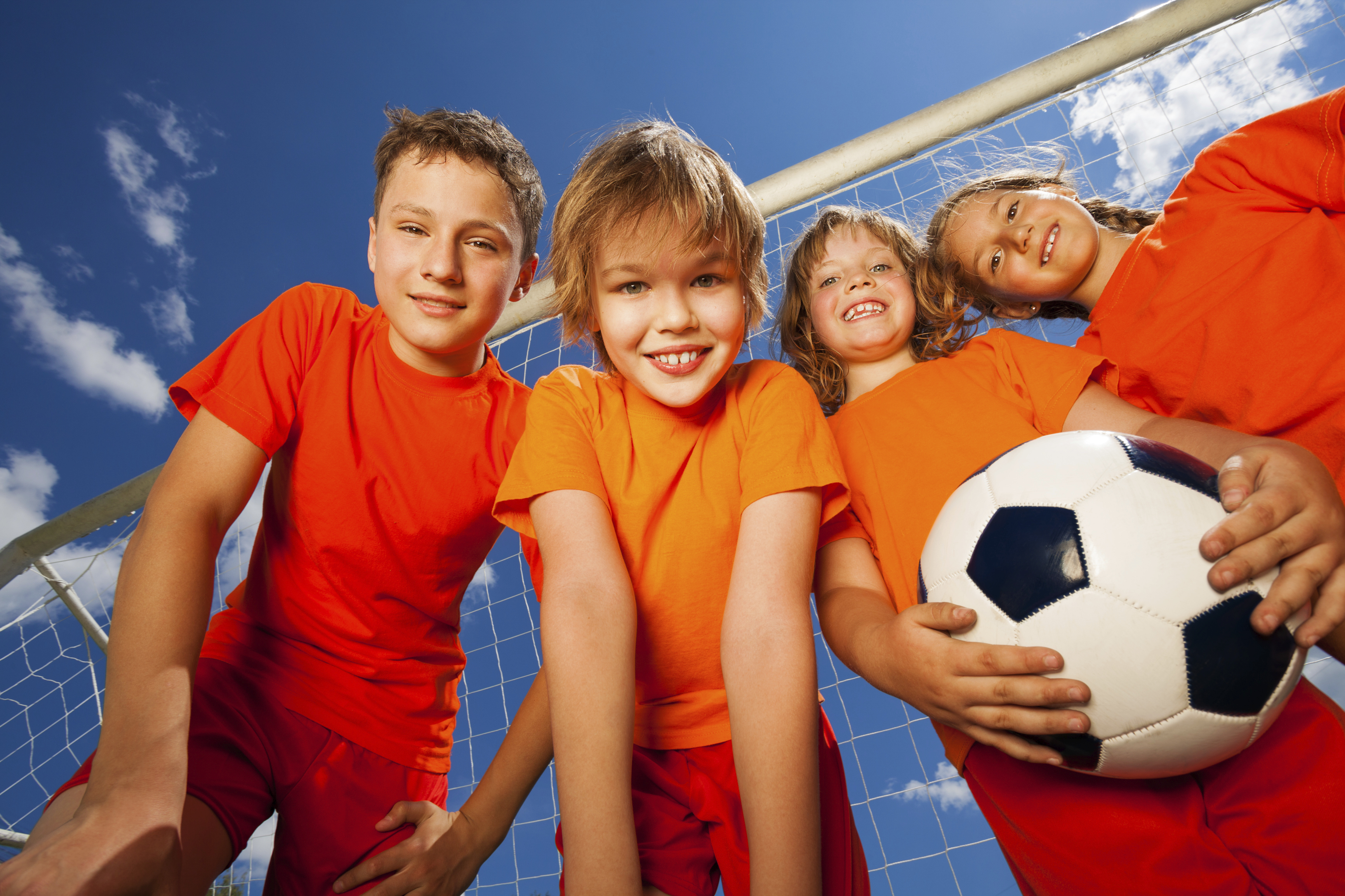 The benefits of sports for children