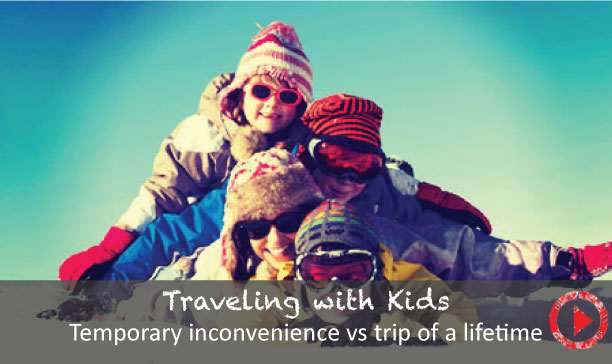 Temporary inconvenience vs. the trip of life