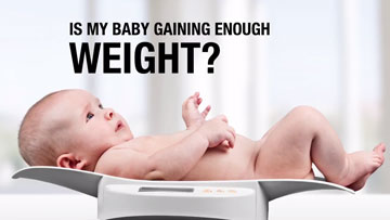 Is my Baby Gaining Enough Weight?