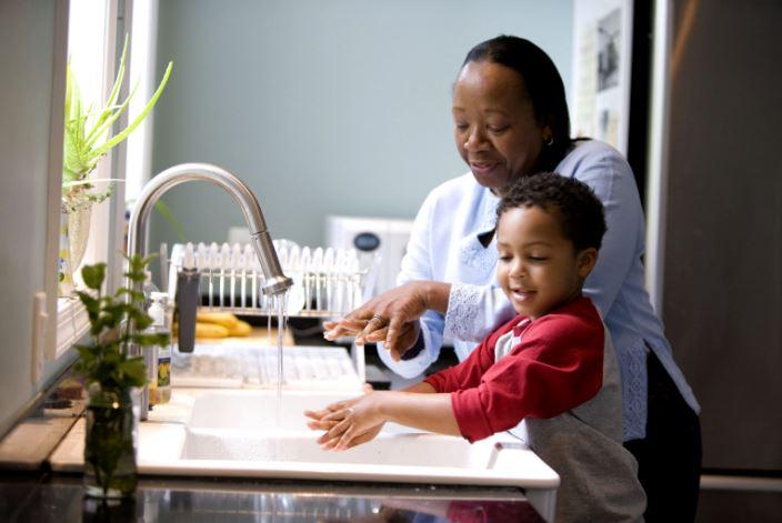 Teach proper hand-washing techniques to prevent illness
